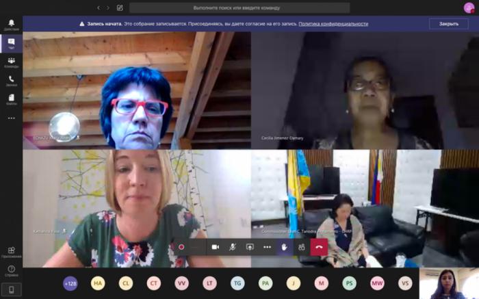 Ombudsman nümayəndəsi beynəlxalq vebinarda iştirak edib