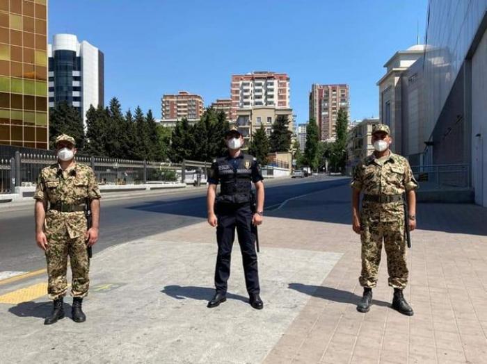 Bakıda sərtləşdirilmiş xüsusi karantin rejimi tətbiq edilir -  FOTO