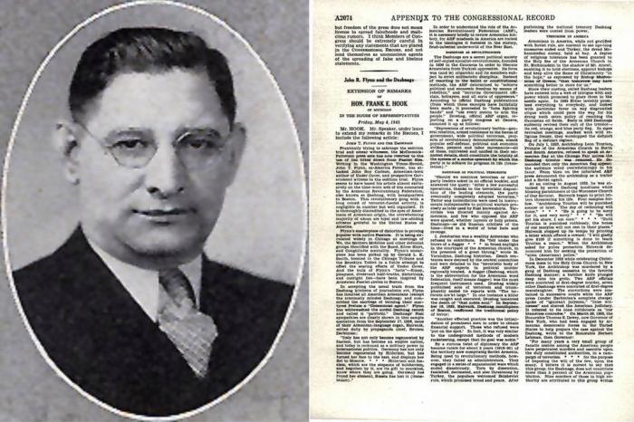 California radio discusses Congressional document exposing Armenian Dashnaks' sympathies for Hitler and Holocaust