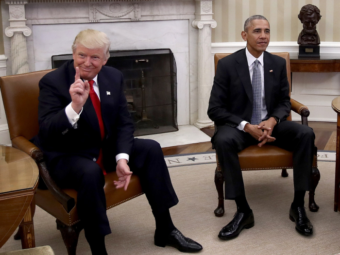 Trump, without evidence, accuses Obama of 'treason'