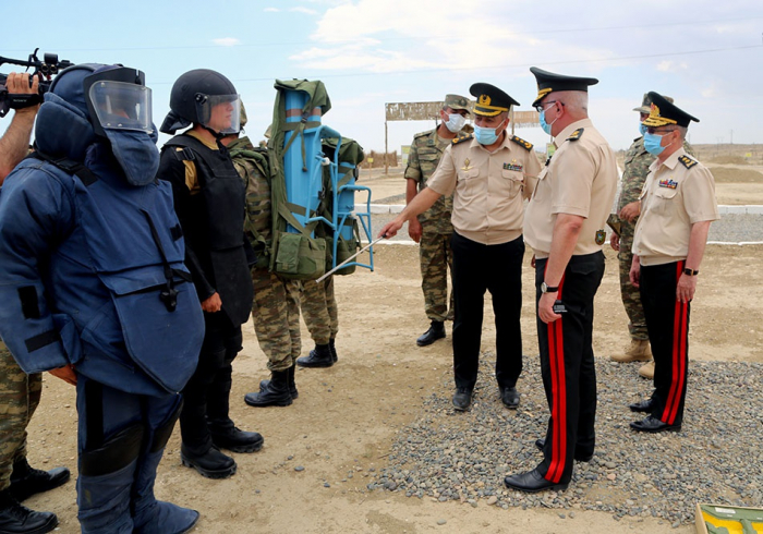 New engineering infrastructure of Engineering Troops commissioned: Azerbaijani MoD (PHOTO)