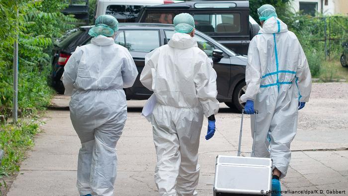 Coronavirus: Germany outbreak sparks fresh local lockdown