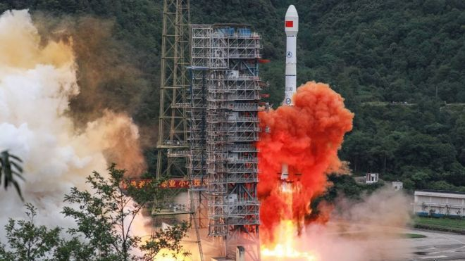 China launches final satellite in challenge to GPS
