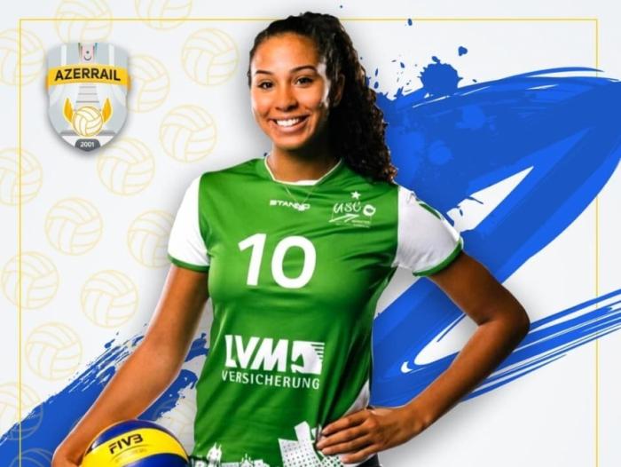 Azerrail Baku sign American volleyball player