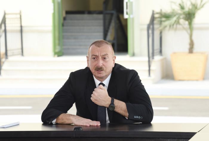 """İlham Əliyev:   """"Azərbaycan öz gücünə arxalanan ölkədir"""""""
