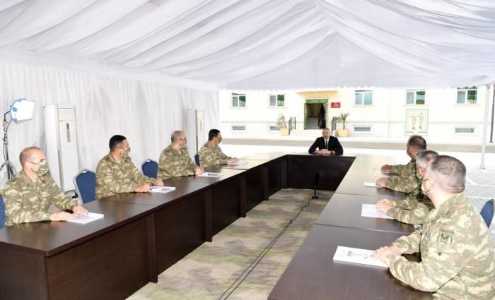 """""""İndiki şəraitdə gücümüzü daha da artırmalıyıq"""" -    Prezident"""