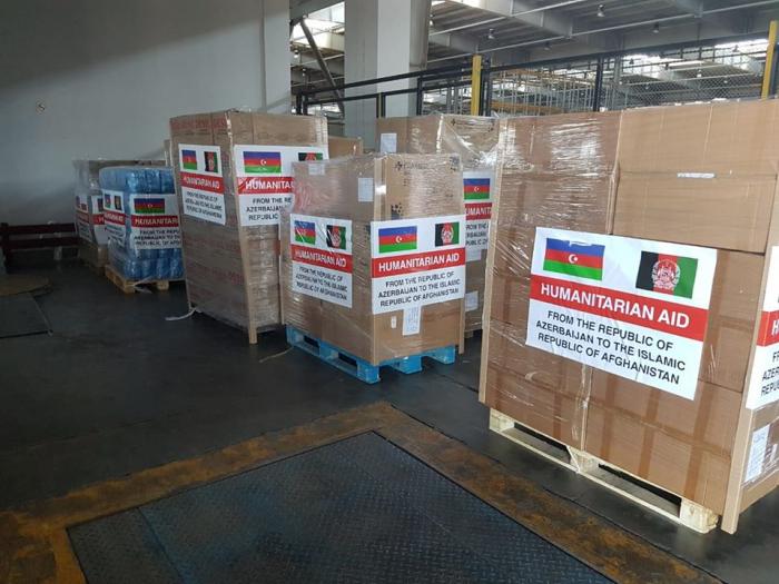 Azerbaijan sends humanitarian aid to Afghanistan