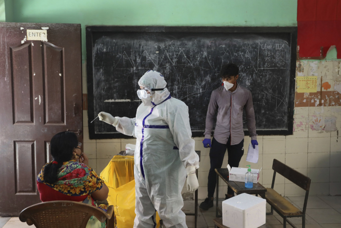 New Delhi plans mass screening effort as virus cases surge