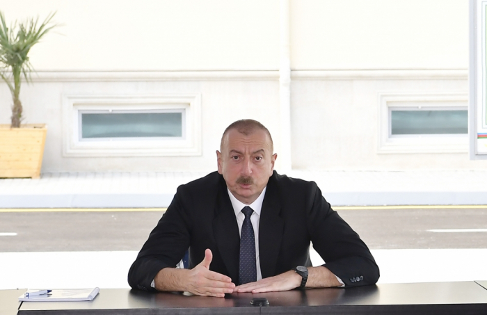 We need to be ready to restore territorial integrity of Azerbaijan, says Ilham Aliyev