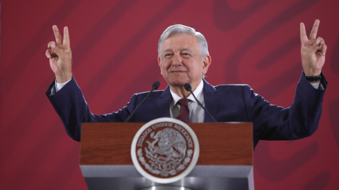 Mexican president slammed after comments on women staying at home