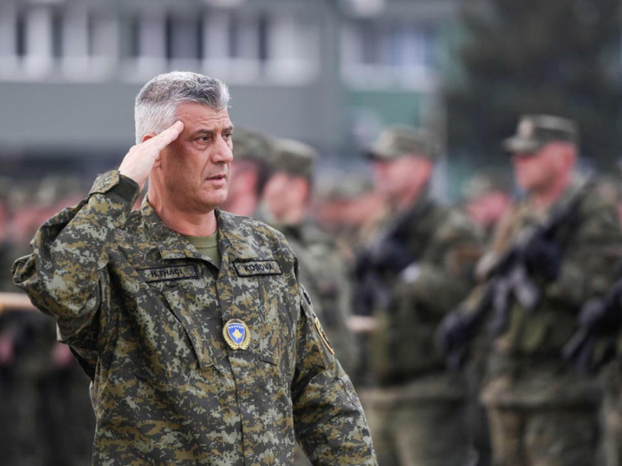 Kosovo president indicted for war crimes