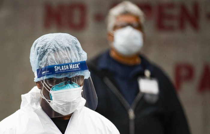 US hits record high in daily coronavirus cases