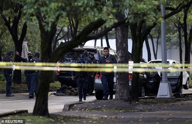 Mexico City public security chief injured in assassination attempt