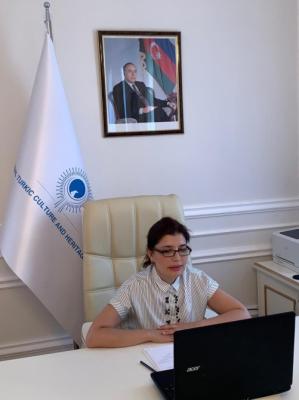 Presidenta de la Fundación Internacional para la Cultura y el Patrimonio Turcos habló en la videoconferencia internacional