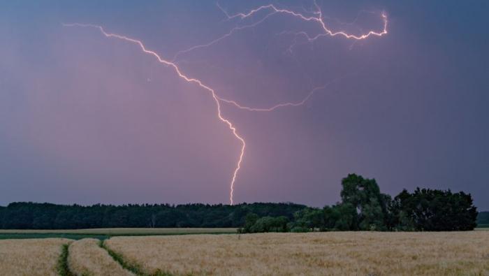 Kräftige Gewitter ziehen durch Deutschland