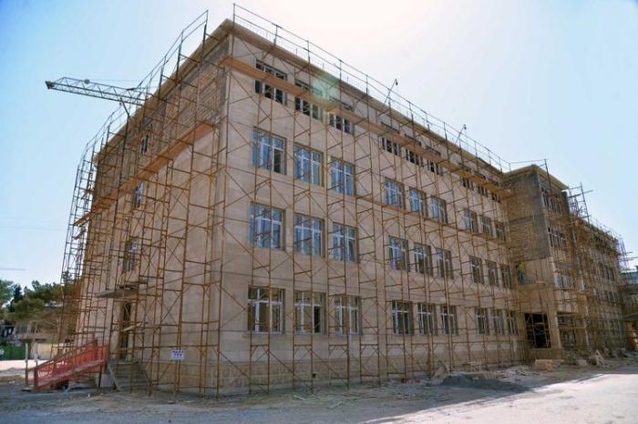Paytaxtda 7 yeni məktəb inşa olunur    - FOTO