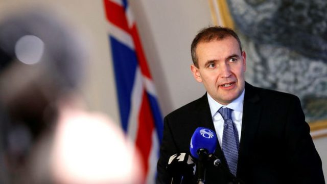 Iceland president re-elected with 92 percent of vote
