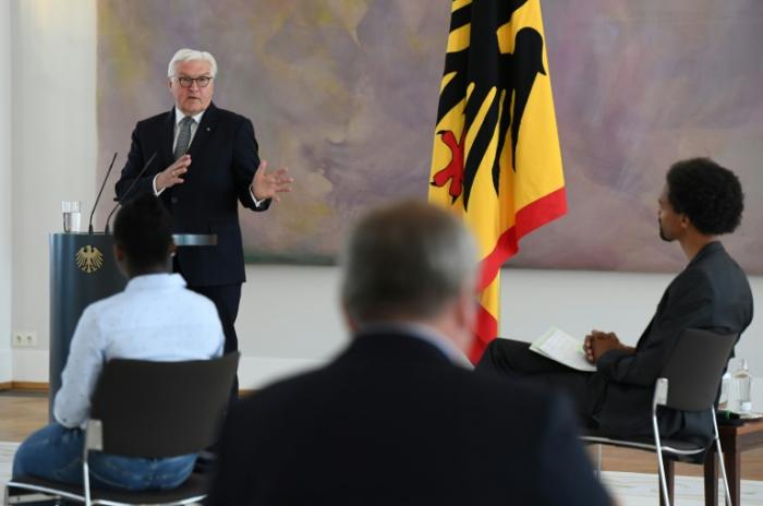 """Steinmeier verteidigt Polizei gegen """"Hass und übelste Herabsetzung"""""""