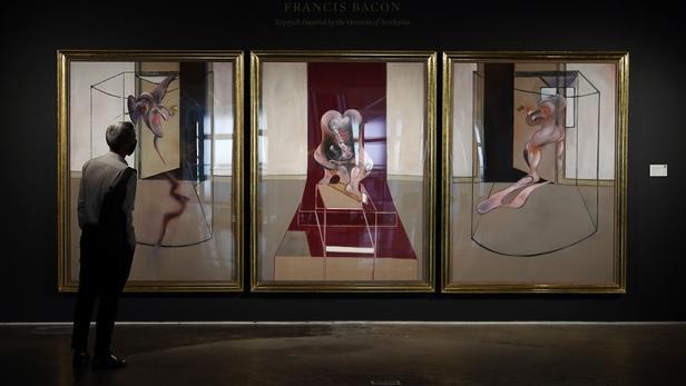 Un triptyque de Francis Bacon vendu 84,6 millions de dollars aux enchères sans public de Sotheby