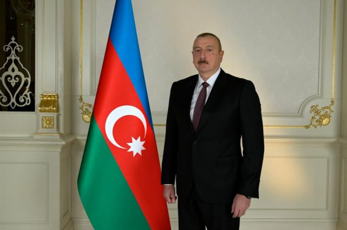 President Ilham Aliyev congratulates Alevtina Brovkina