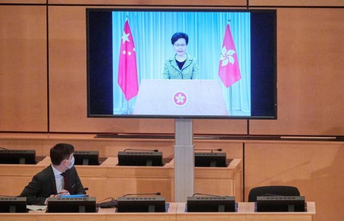 Hong Kong leader says national security law won