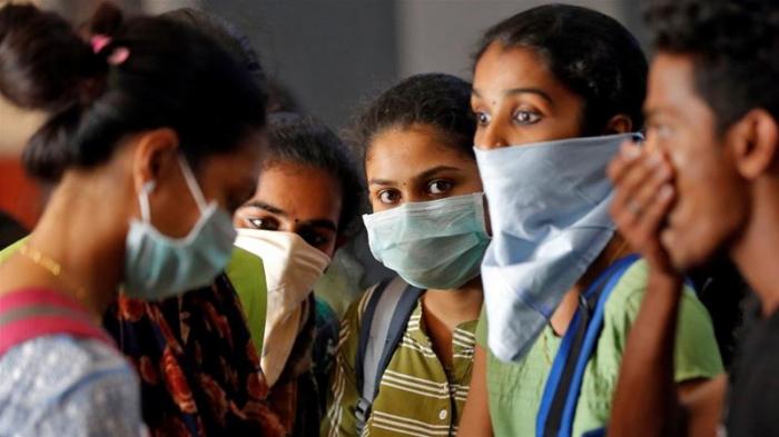 Hindistanda yoluxma sayı daha 18,5 min artdı