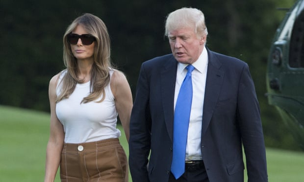 Melania Trump used White House move to renegotiate prenup, book claims