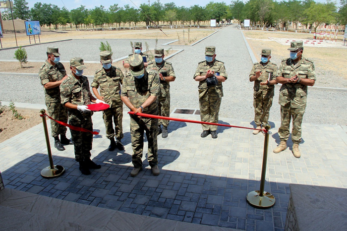 Azerbaijan inaugurates another military unit of Air Force in frontline zone - PHOTO
