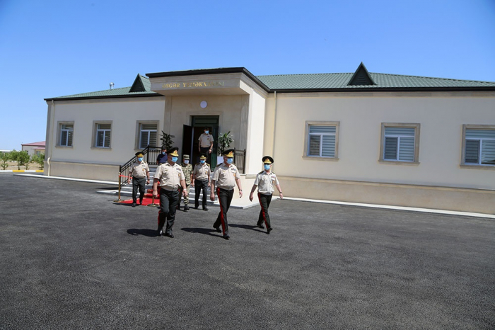 Azerbaijani Defense Ministry inaugurates another military unit - PHOTOS
