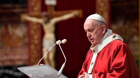 البابا فرنسيس يخرج عن صمته حول الاضطرابات في أمريكا
