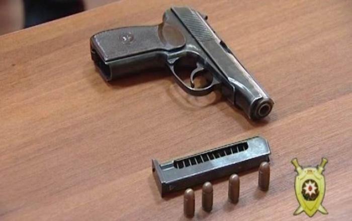 Şəki sakinindən silah-sursat götürüldü