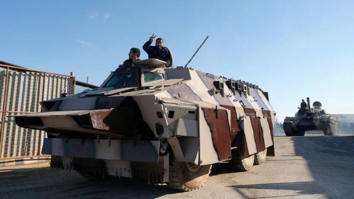 ليبيا.. إعادة تمركز الجيش خارج طرابلس وإسقاط مسيرة تركية