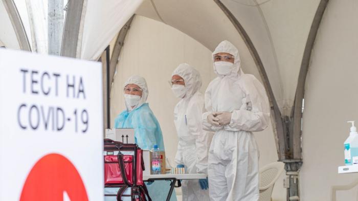 Qazaxıstanda daha 450 nəfər virusa yoluxdu