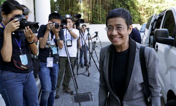 Maria Ressa: Rappler editor found guilty of cyber libel charges in Philippines