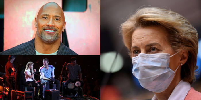 Vaccin contre le Covid-19:  Coldplay, Dwayne Johnson et Miley Cyrus aident l