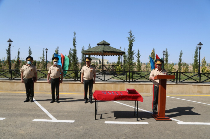 Defense Minister attended the opening of a new military unit -   PHOTOS