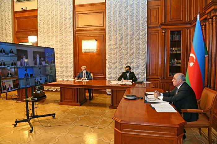El Gabinete de Ministros de Azerbaiyán debatió la situación en la lucha contra el coronavirus