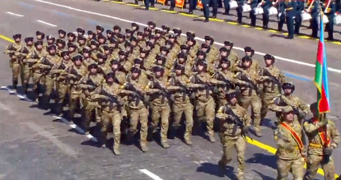 Azerbaijani soldiers take part in World War Two victory parade in Russia - VIDEO|UPDATED