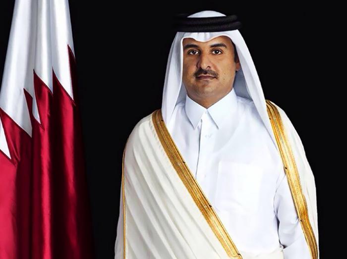 أمير دولة قطر يهنئ الرئيس الأذربيجاني بمناسبة يوم الجمهورية