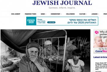 Publican un artículo sobre los desplazados internos de Azerbaiyán en la edición estadounidense del Jewish Journal