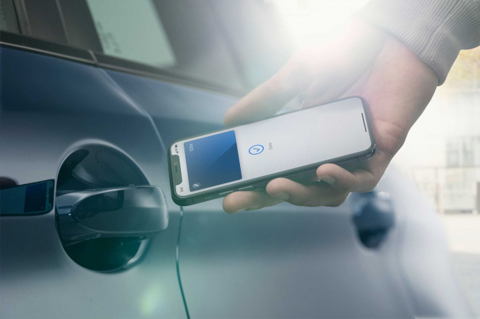 La dernière BMW pourra utiliser un iPhone comme clé de voiture