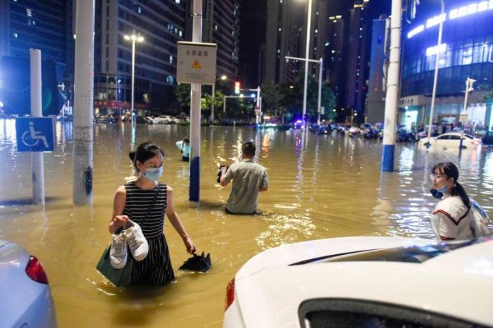 Chine : douze morts et dix disparus après de fortes pluies au Sichuan