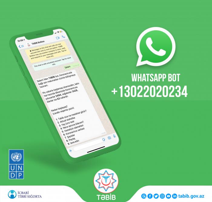 Covid-19:   un bot WhatsApp lancé par TABIB et le PNUD