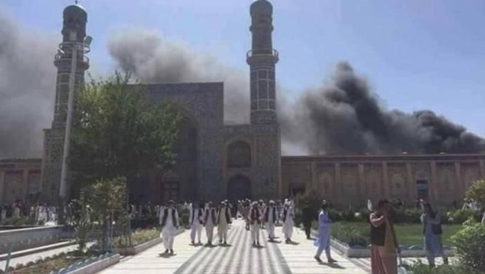 Afghanistan:   explosion dans une mosquée du centre névralgique de Kaboul, un mort