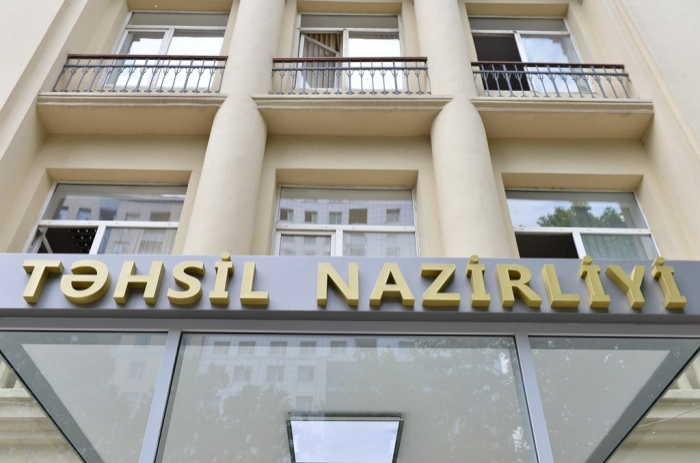 """""""Bütün müəllimlərin məktəbə gəlməsinə ehtiyac yoxdur"""" -    Nazirlik"""