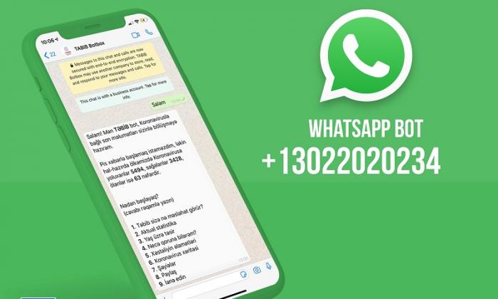 """Koronavirusla bağlı məlumatları """"WhatsApp""""dan öyrənə bilərsiniz!"""