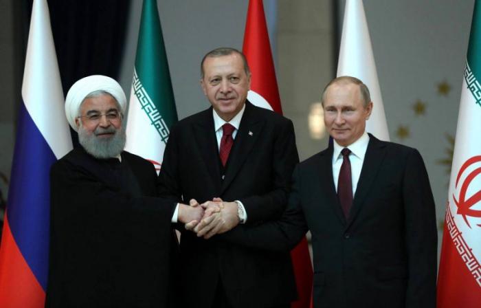 Pourparlers Poutine-Erdogan-Rohani mercredi