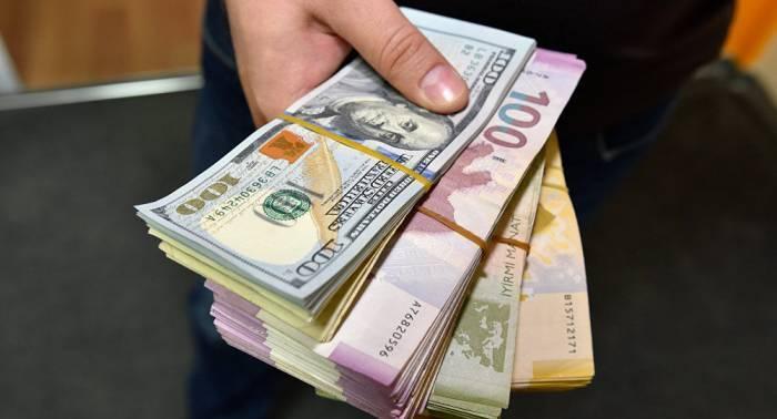 Dollar və manatın bugünkü məzənnəsi