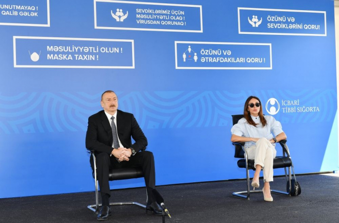"""İlham Əliyev:   """"Azərbaycan burada da liderlik göstərib"""""""
