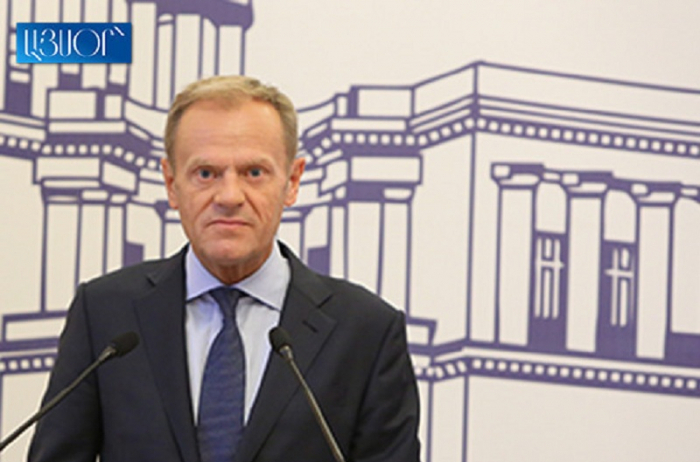 Donald Tusk calls on Armenian authorities to refrain from pressuring opposition
